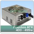 Componentes PC » Fuentes de alimentación » Fuentes ATX PS2 » 400 - 499 W