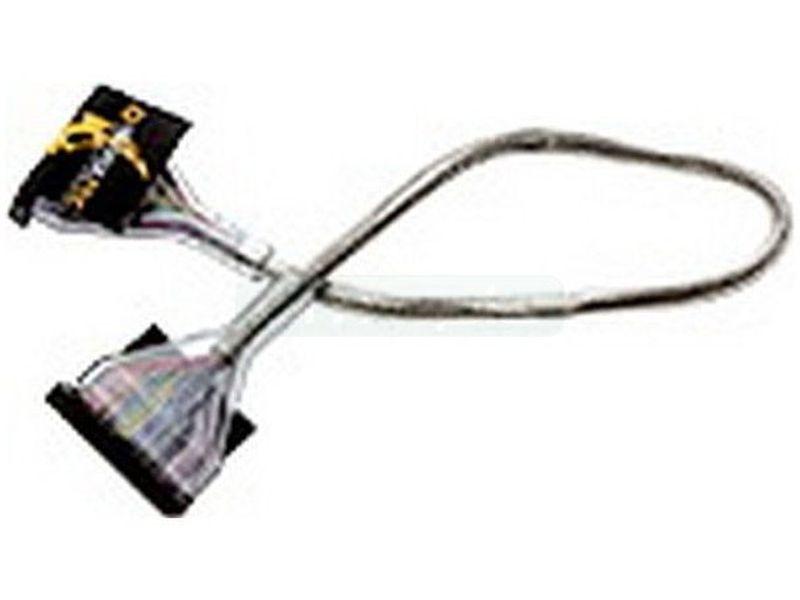 Revoltec RC014. Cable Floppy redondo silver, 48 cm