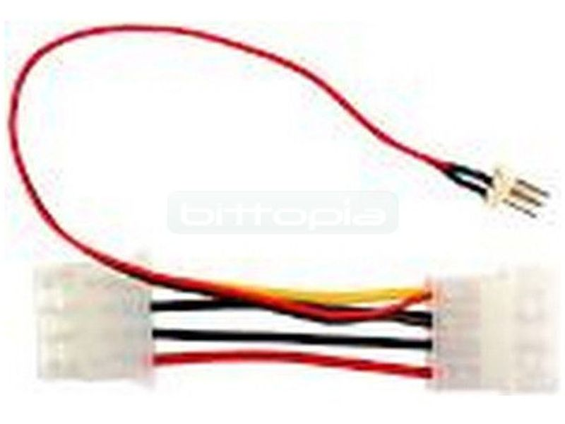 Revoltec RC022. Cable adaptador 3pin a 4pin