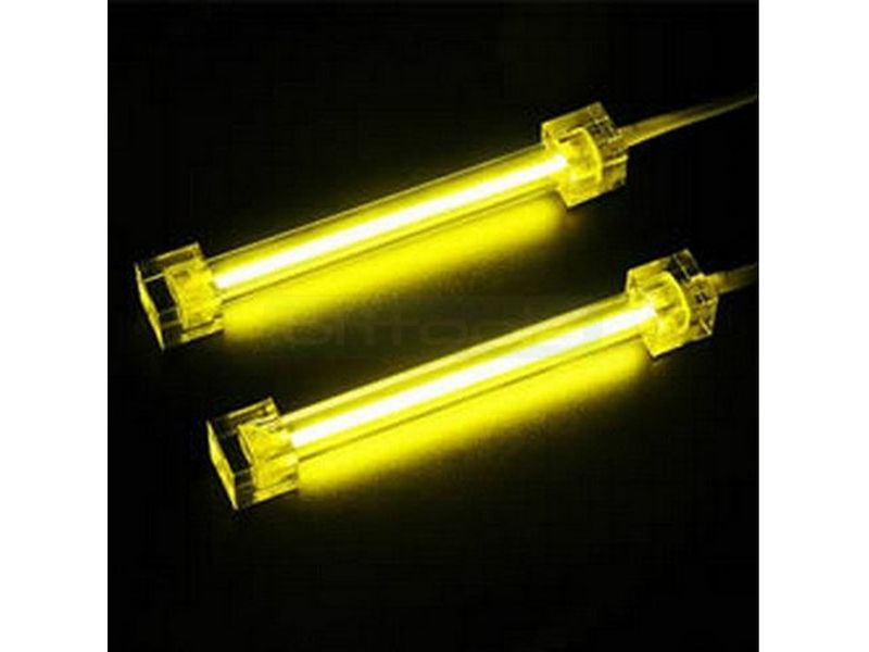 Revoltec RM096. Cátodo frio 10cm doble Amarillo - Cátodo frío doble amarillo (2 tubos de 10cm). 134gr.