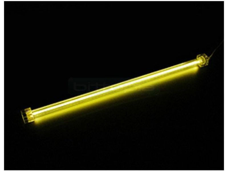 Revoltec RM098. Cátodo frio (CCFL), Amarillo - Cátodo frío amarillo de 31cm. 130gr.