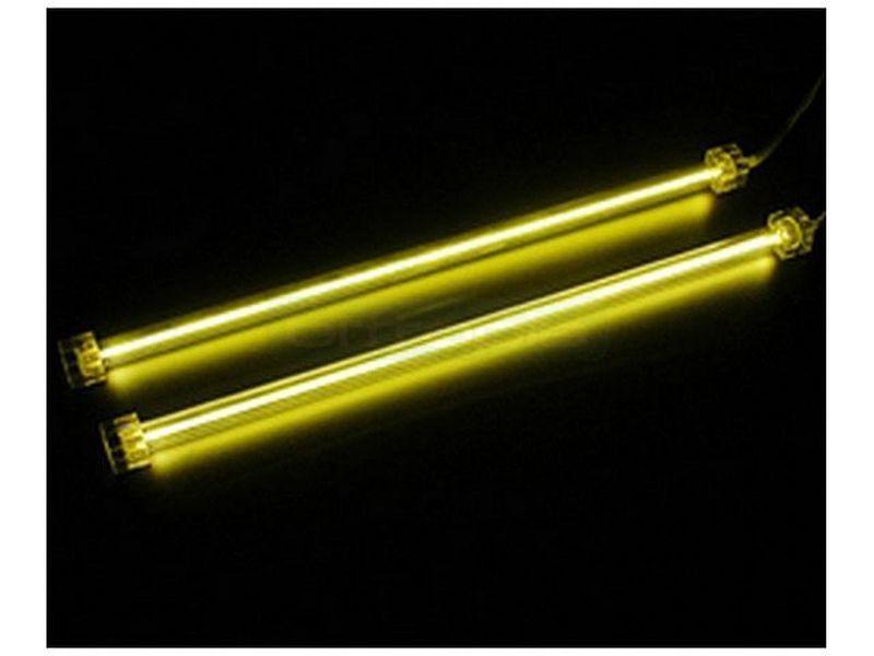 Revoltec RM100 Cátodo frio (CCFL) doble Amarillo - Cátodo frío doble amarillo (2 tubos de 31cm). 158gr.