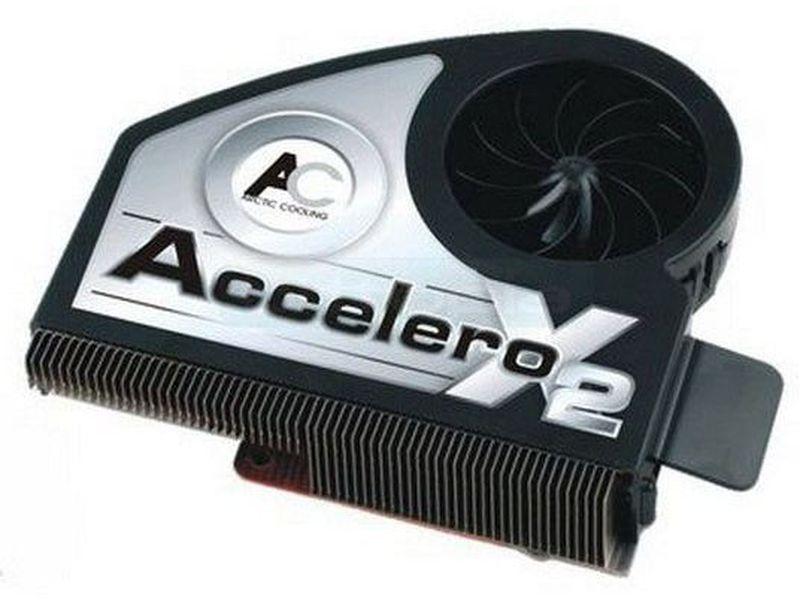 Arctic Cooling Accelero X2 para ATI, Cooler VGA - Cooler para VGA 100% compatible con las especificaciones SLI y BTX. Compatible con graficas ATI.
