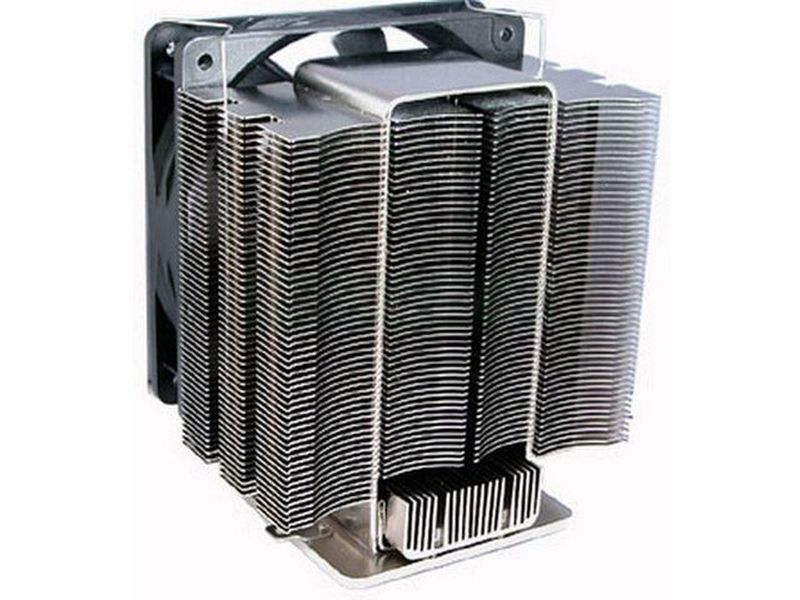 Scythe Shogun - Cooler para CPU, con excelente combinación entre tecnología heatlane y un silencioso pero potente ventilador de 120mm. Compatible con socket 478, 775 y 754. 939, 940.