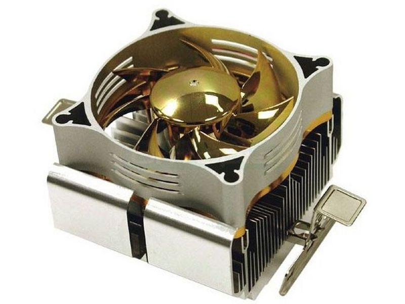 Silverstone NT04 - Diseñado para procesadores AMD con socket 754, 939, 940, este cooler de CPU, ligero y eficiente, es capaz de disipar hasta 100W de calor. Cuidado diseño de la estructura.