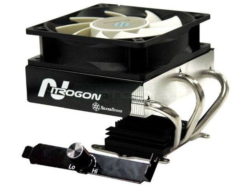 Silverstone NT06 - Diseñado con un único propósito: ser capaz de refrigerar la CPU mas caliente del mundo. Para ello ha incrementando significativamente su capacidad de absorción de calor.