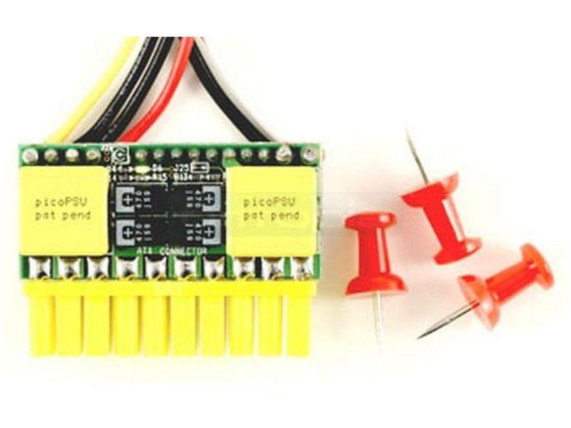 F.A. PicoPSU 120W 12V DC-DC - Fuente interna DC-DC de 120W y 12V en formato PicoPSU. Es ideal para el montaje de equipos de mínimas dimensiones.