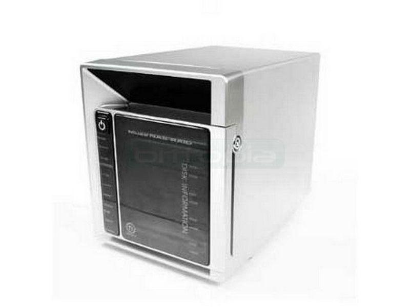 Thermaltake NAS-RAID - Caja para 4 discos duros SATA de 3,5. Soporta cambio en caliente.