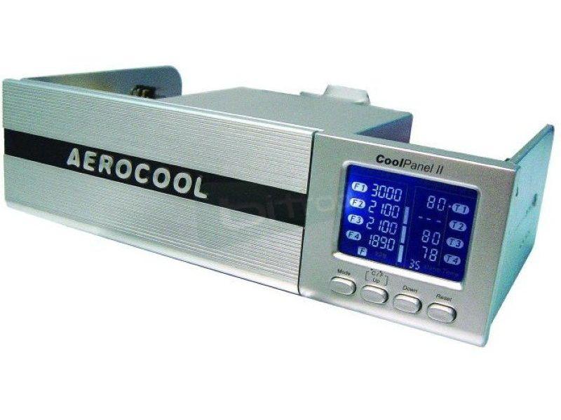 Aerocool Coolpanel 2 Silver - Frontal de 5.25