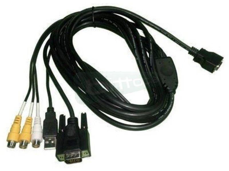 Xenarc Cable 5 metros para monitor táctil - Cable alargador de 5 metros para monitores Xenarc táctil.