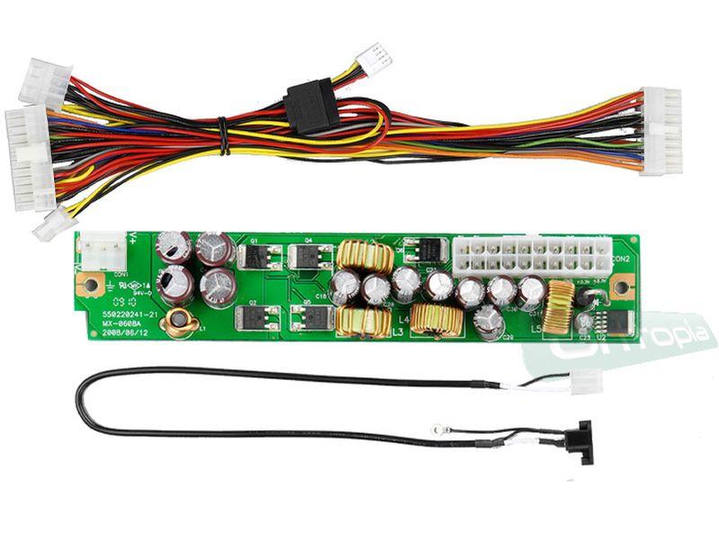 Fuente DC-DC 80W para Mini-ITX - Fuente interna DC-DC de 80W y 12V.