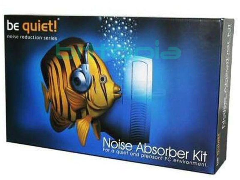 Be Quiet! Reductor de ruido universal Negro - Es un sistema formado por planchas de una extraordinaria sencillez de montaje, diseñadas para reducir drásticamente el nivel sonoro que generan todos los componentes del ordenador.