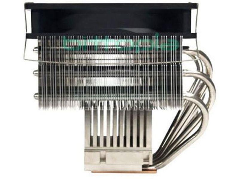 Scythe Andy Samurai - Cooler para CPU compatible con socket 478, 775, 754, 939, 949, AM2. Solución todo-en-uno para la integración en su PC. Silencioso, sencilla y rápida instalación.