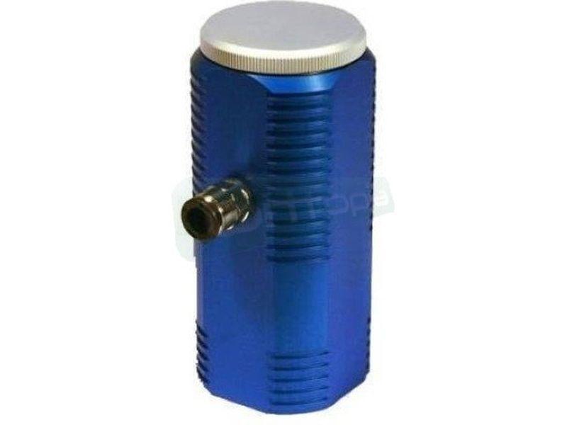 Tanque de agua Aquainlet Azul - Deposito para colocar en la toma de entrada de las bombas, cuidado diseño con un acabado de aluminio anodizado.