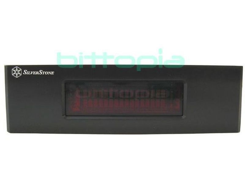 SilverStone FP54 B Negro Display - Frontal de 5.25