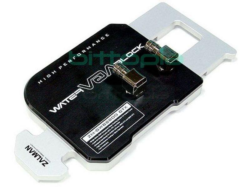 ZALMAN GWB8800 Ultra / GTX - Cooler para VGA 8800 Ultra/GTX de refrigeración por agua. Su estructura es 100% aluminio, no emite ningún ruido.