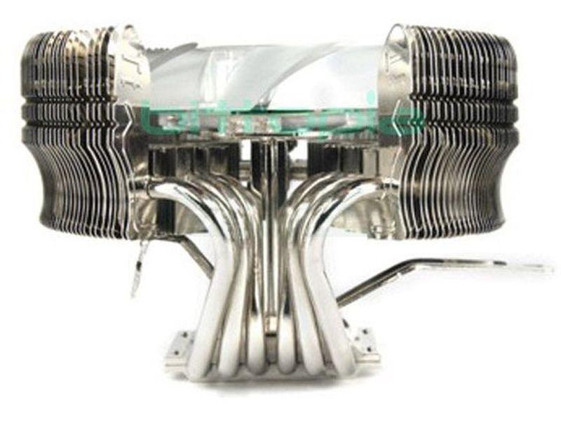 Thermaltake MAX Orb - Disipador circular silencioso de  120 cm con regulador