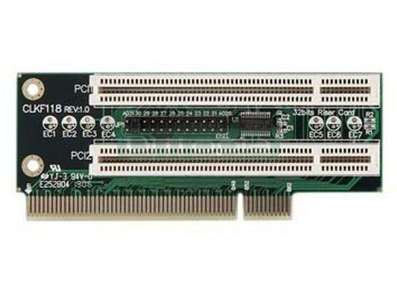 Morex Riser 2 PCI para caja 2xxx - Tarjeta riser compatible con cajas Cubid II. Incluye 2 ranura pci.