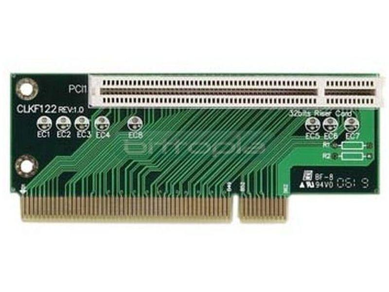 Morex Riser 1 PCI para caja 2xxx - Tarjeta riser compatible con cajas Cubid II. Incluye 1 ranura pci.