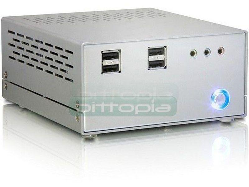 Caja Pico-ITX 431 - Ya podemos disfrutar de todo el potencial de las placas Pico-ITX gracias a este modelo de caja. Diseñada para emplear cualquier modelo de fuentes en formato Pico-PSU.
