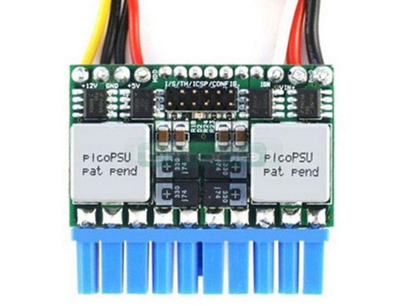 F.A. Inteligente Pico-PSU M3-ATX 125W DC-DC CAR-PC 6-24V - Fuente interna DC-DC de 125W y soporta un rango de 6V a 24V en formato PicoPSU. Es ideal para el montaje de equipos de tipo CarPC o equipos que se alimenten por baterías.
