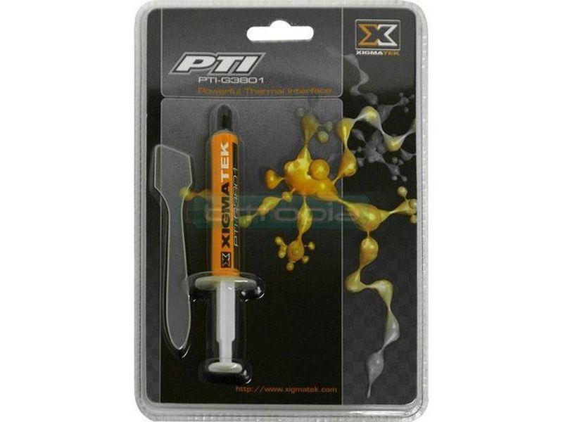 Xigmatek PTI-G3801. Masilla - Masilla térmica de alta conductividad. No es eléctricamente conductora.