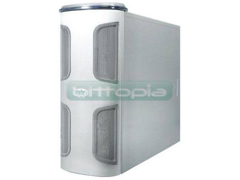 Silverstone KL03S-W Silver con ventana - Caja en formato torre de color plata con ventana, compatible con placas SSI/Extended ATX/ATX/Micro ATX. Está hecha para los aficionados y los usuarios profesionales que requieran unos componentes de alta calidad sin renunciar a una adecuada refrigeración y silencio.