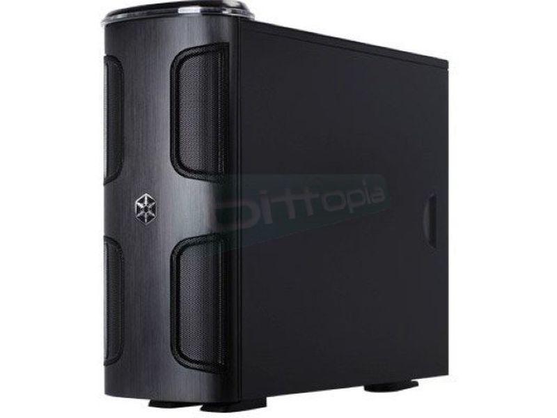 Silverstone KL03B-W Negra con ventana - Caja en formato torre de color negro con ventana, compatible con placas SSI/Extended ATX/ATX/Micro ATX. Está hecha para los aficionados y los usuarios profesionales que requieran unos componentes de alta calidad sin renunciar a una adecuada refrigeración y silencio.