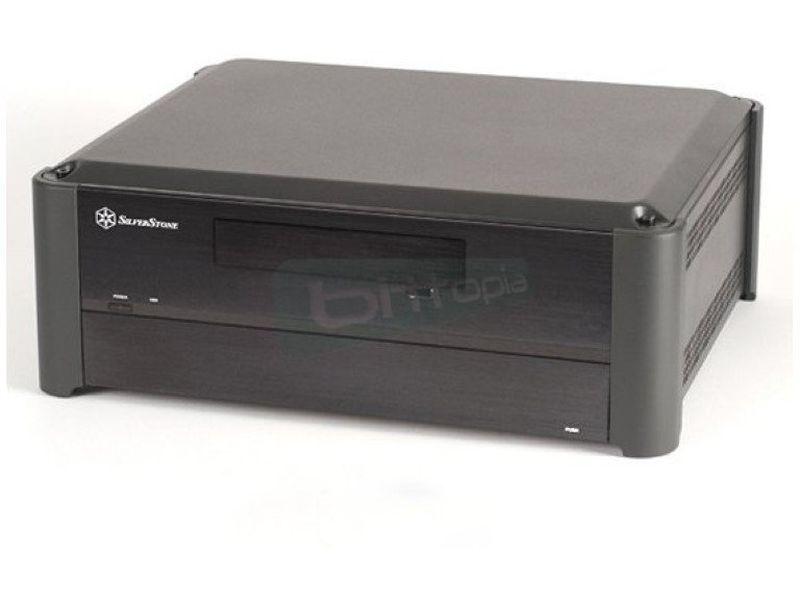 SilverStone Grandia GD02B Negro - Caja en formato sobremesa de color negro compatible con placas Micro ATX/DTX/Mini-ITX. Integra igualmente la innovación y la estética. Una caja de tipo HTPC tampoco antes había sido tan potente y compacta como lo es la GD02. Con tan solo 360mm de fondo.