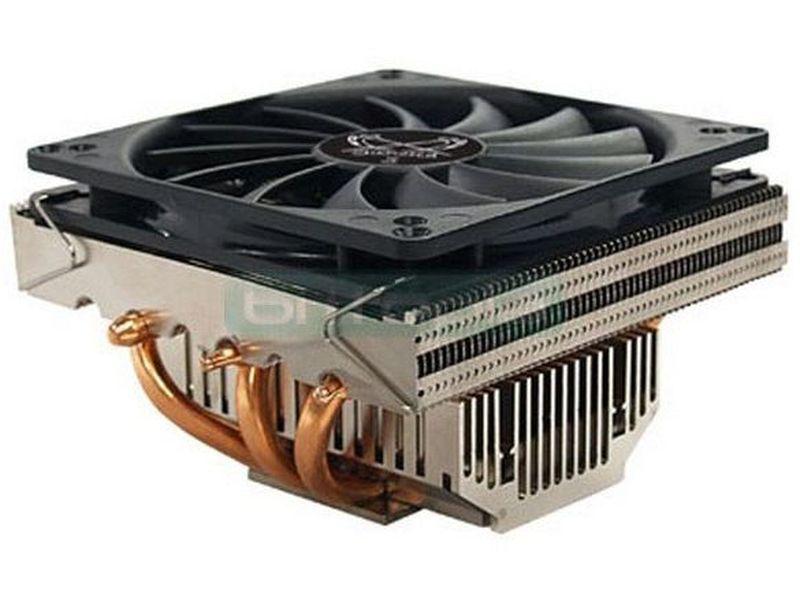 Scythe Shuriken Rev B, disipador - Cooler para CPU de bajo perfil con tan solo 64mm de alto. Compatible con la gran mayoria de cajas del mercado y prácticamente con todos los socket de los procesadores modernos.