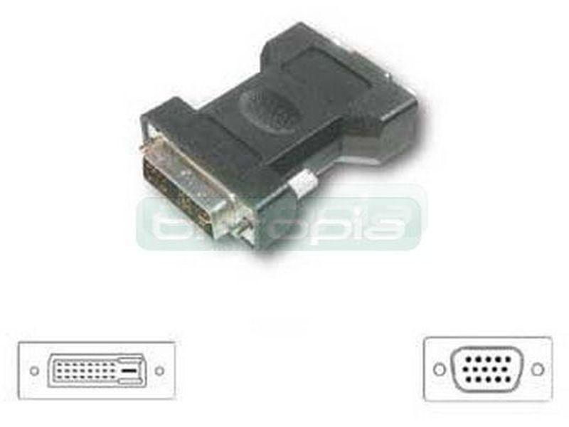 OEM Adaptador DVI 24+5 Macho SVGA HPBD 15 Hembra