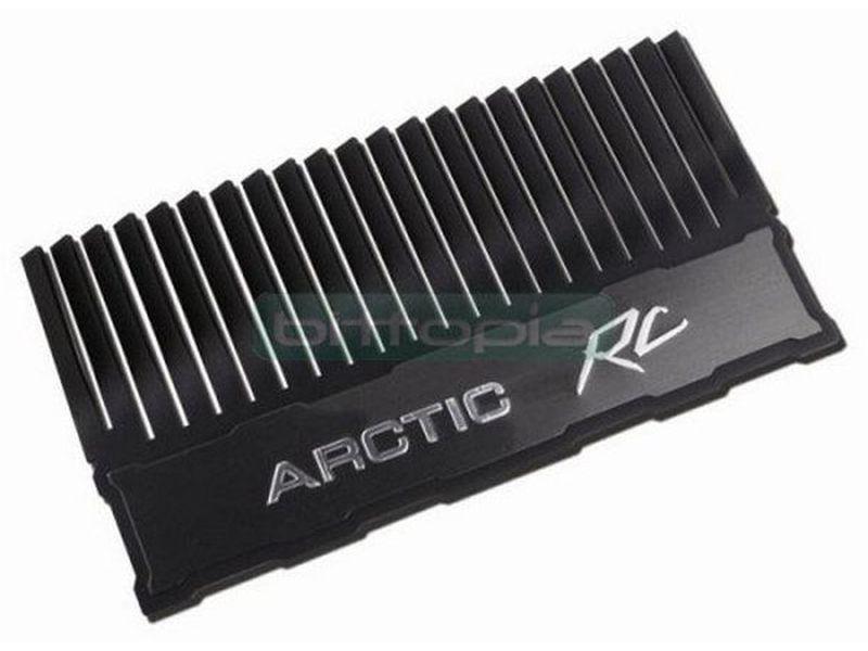 Arctic Cooling Arctic RC, disipador memoria. - Disipador para modulo de memoria fabricado en aluminio.