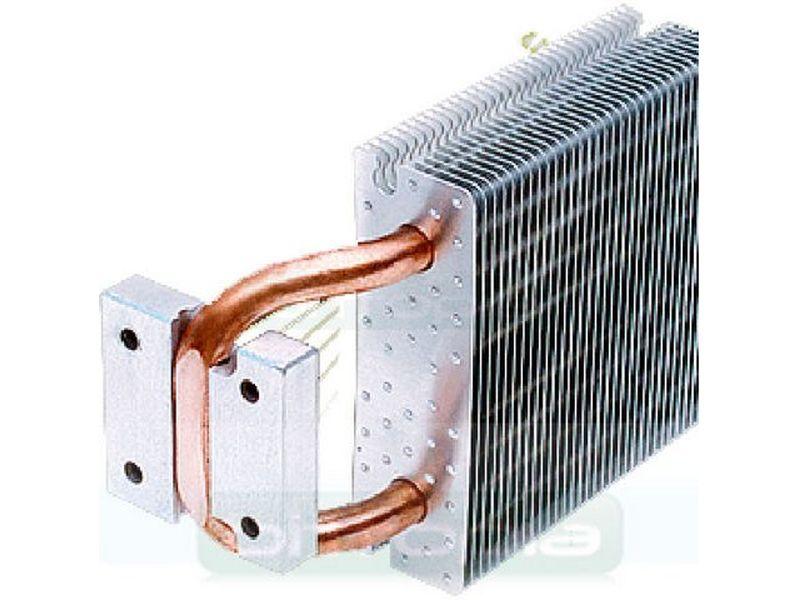 Disipador Chipset Xigmatek Porter HDT-N881 - El primer cooler de chipset del mundo que emplea la tecnología Heatpipe Direct Touch, donde el tubo de disipación está en contacto directo con el chip northbridge de la placa.