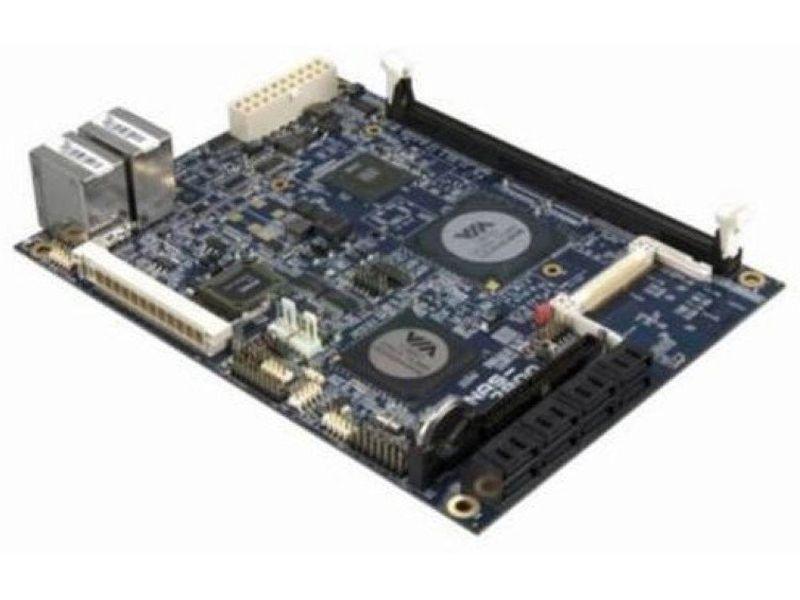 Via NAS7800-15 Developer KIT Placa base - Via C7 1,5Ghz. Memoria DDR2 hasta 1Gb. Chipset VIA CN700 y VT8251. 14.3cm x 19cm.