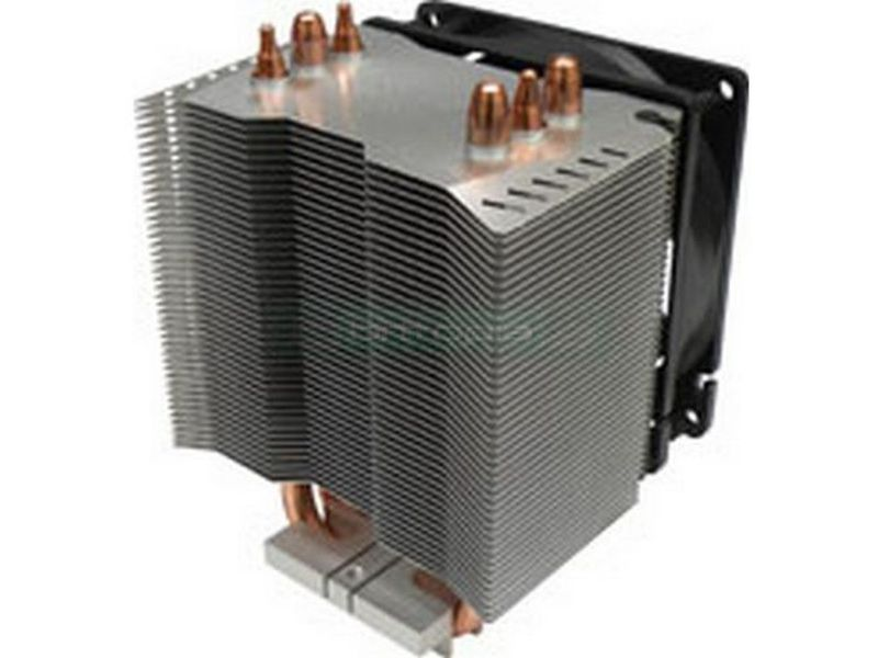 Xigmatek HDT-S983 Nepartak - Cooler de CPU fabricado en aluminio con Heat-pipes de cobre. Ventilador 90mm PWM, 1200~2800RPM, 52CFM, 20~28dBA. Compatible con 775, 754, 939, 940 y AM2.