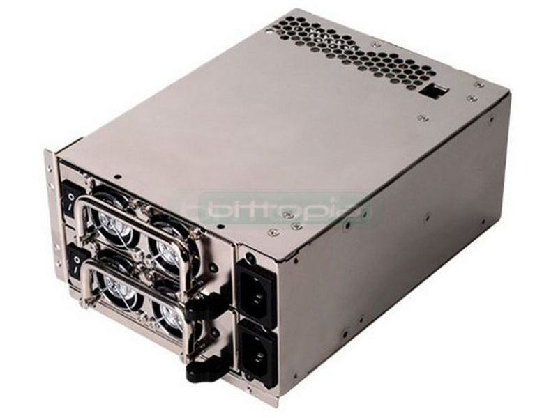 SilverStone Gemini ST55GF 2x550W - Fuente redundante 550W+550W. 2 Ventiladores 40mm. 1 Rail 12V.