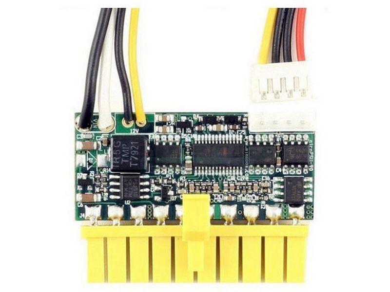 F.A. PicoPSU 90W 12V DC-DC - Fuente interna DC-DC de 90W y 12V en formato PicoPSU. Es ideal para el montaje de equipos de mínimas dimensiones.