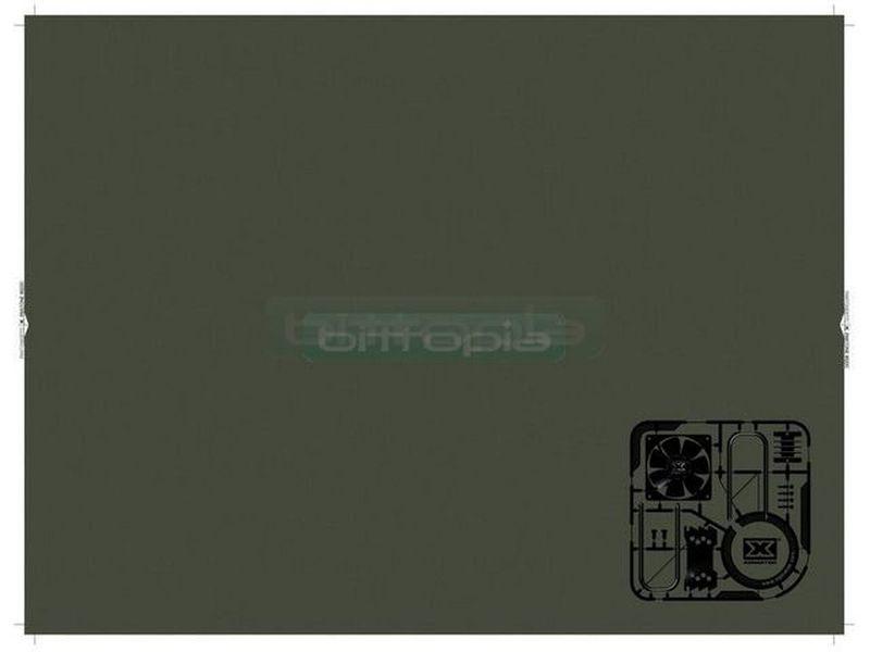 Xigmatek Bestmate 002 Alfombrilla - Alfombrilla de grandes dimensiones en color verde. 300mm x 400mm x 3mm.