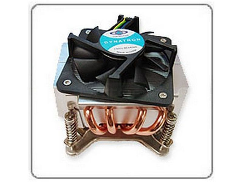 Dynatron P555G 775 Rack 2U Activo - Cooler de bajo perfil para RACK 2U compatible con socket 775 con ventilador de 77x77x20.