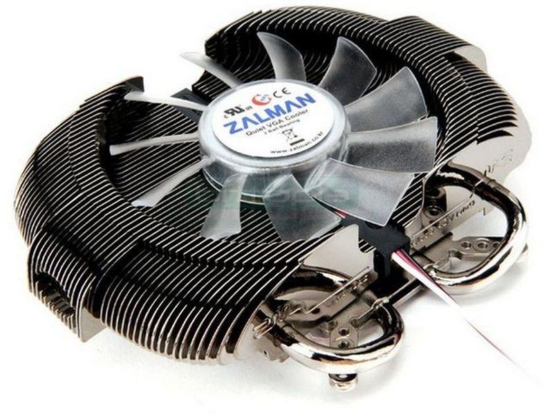 Zalman VF950 LED Cooler para VGA - Cooler para VGA con un sistema de láminas patentado por Zalman. Incluye heat-pipe y ventilador.