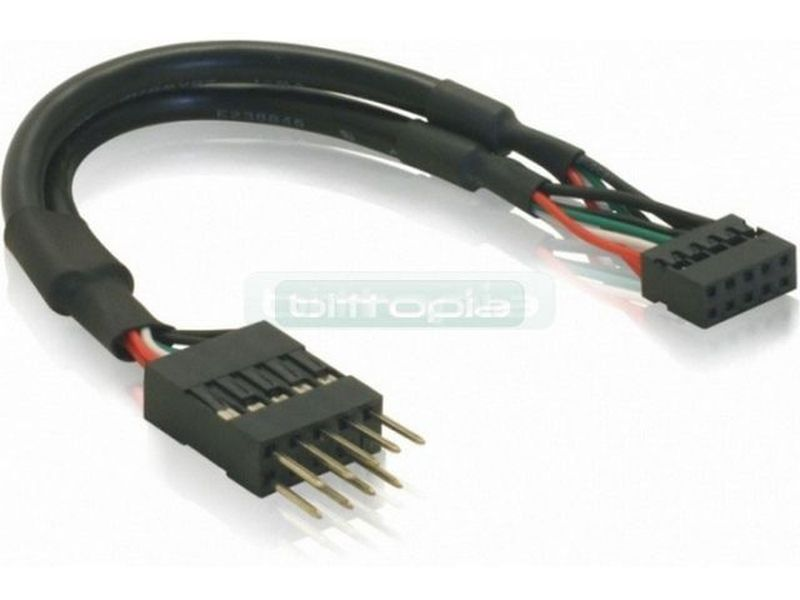 OEM Adaptador USB 2 a 2.54mm
