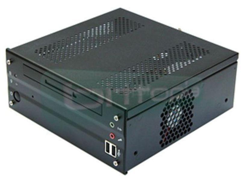 Travla C299 60W caja Mini-ITX - Caja en formato Mini-ITX de color negro, fabricado en aluminio y con gran capacidad de refrigeración.