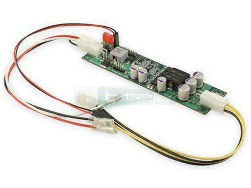 F.A. Inteligente DCDC-USB 6-34V. Programable - Conversor interno DC-DC 100% programable. Hasta 100W de potencia, se puede alimentar con un rango de 6 a 34V. Es ideal para el montaje de todo tipo de equipos de mínimas dimensiones.