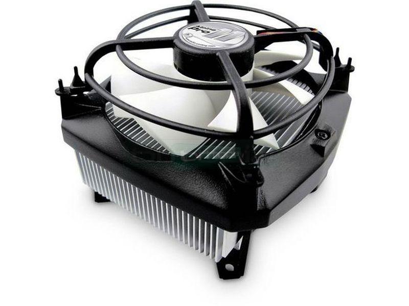 Arctic Alpine 11 PRO Rev 2 - Cooler para CPU compatible con socket 775. 115x hasta 95W. Con ventilador de 80mm. regulado por PWM. de original diseño para conseguir mejor absorción de aire.