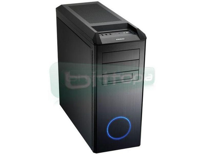 Lian Li PC-B25FB Negra - Avanzado diseño en elegante color negro con toques en azul que le aportan personalidad.