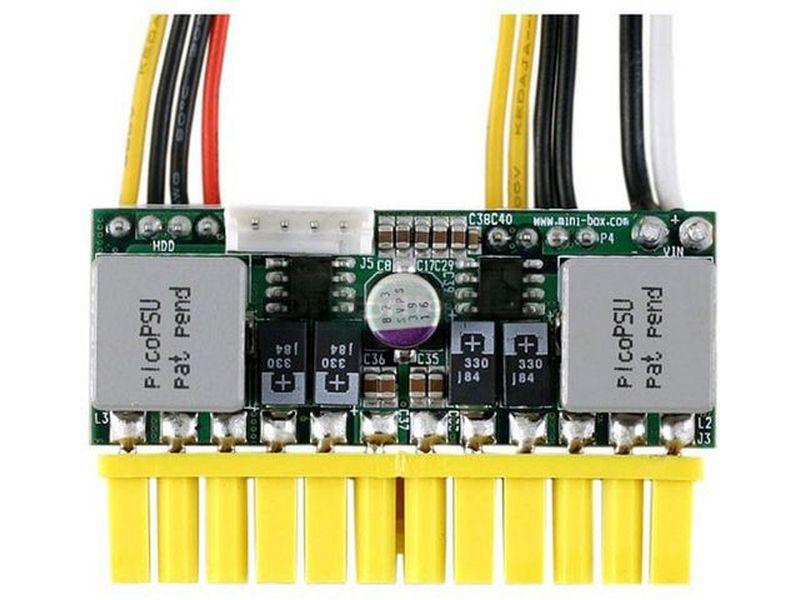 F.A. PicoPSU 150XT 12V DC-DC - Fuente interna DC-DC de 150W y 12V en formato PicoPSU. Es ideal para el montaje de equipos de mínimas dimensiones.