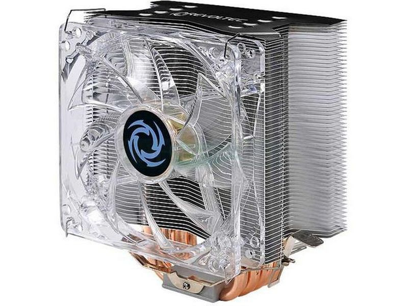 Revoltec RK005 Pipe Tower PRO LGA775/AM2 - Cooler para CPU compatible con socket Intel 775 y AMD 754, 939, 940, AM2. Incluye ventilador.