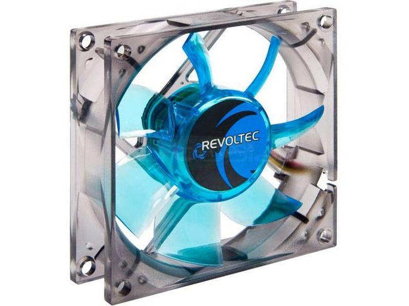 Revoltec RL064. Ventilador AirGuard PRO 80x80x25 - Ventilador Airguard PRO de 80x80mm para caja. Con características avanzadas, eficiente y de larga vida útil.