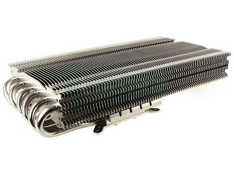 Prolimatech MK-13 Cooler para VGA - El diseño de este disipador para tarjetas gráficas, con seis tubos heat-pipe de 6mm de grosor, ha sido calculado de manera matemática para conseguir los mejores resultados de refrigeración.