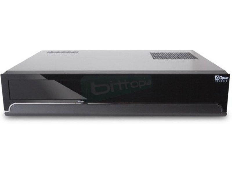 Aopen HT80D Caja HTPC con fuente 275W - Ideal para PCs de salón. Chasis sobremesa multimedia con mando a distancia. Dispone de una gran capacidad de expansión y de un diseño térmico especial que supone una importante mejora en la refrigeración interna.